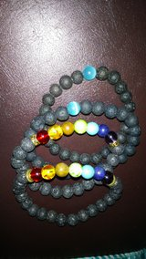 Lava rock bracelet in Fort Campbell, Kentucky