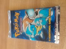 Pokemon base set pack unopened in Fort Irwin, California