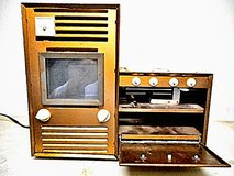 Toy Metal electric Stove Oven Argo Industry in Lake Elsinore, California