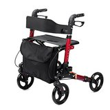 ELENKER Euro Style Rolling Walker Compact Folding Rollator Walker with Comfortable 18.11x 9.84 I... in Naperville, Illinois
