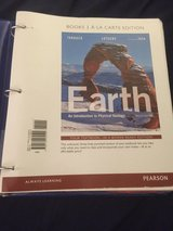Geology textbook in Travis AFB, California
