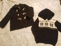 Coat and Knitted Sweater - Like New! REDUCED!! in Travis AFB, California