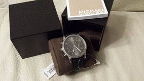 Brand New Micheal Kors Chronograph Watch ($250) in Grafenwoehr, GE