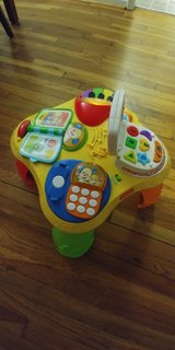 fisher price activity table in Fort Leonard Wood, Missouri
