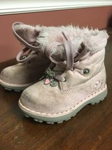 Little girls build a bear boots in Plainfield, Illinois