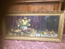 beautiful antique  frame fruits wine and roses in Ramstein, Germany