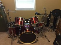 Mapex Drum Set w/lots of Extras in Warner Robins, Georgia