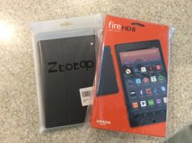 Amazon Fire HD8 Brand New! With Case Reduced! in Beaufort, South Carolina