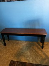 """All wood bench 14"""" wide 47"""" long. 18"""" tall in Cleveland, Texas"""