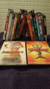 Bunch of DVDs in Lakenheath, UK