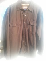 Levi Strauss Corduroy Jacket Button Front Fleece Lined Tan Cotton Size XL in 29 Palms, California