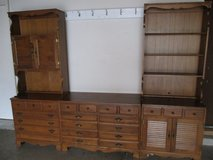 5 piece Bookcase Dresser Furniture in Aurora, Illinois