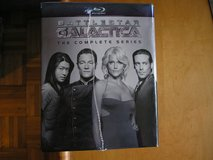 BATTLESTAR GALACTICA SERIES ON BLU-RAY DVDs in Yorkville, Illinois