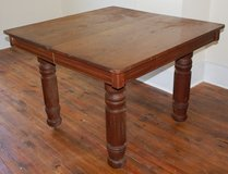 Antique Oak Kitchen Table in Camp Lejeune, North Carolina