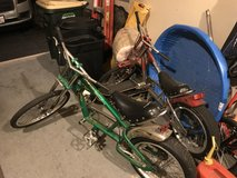 Two Schwinn OC Chopper Sting Ray Bicycles in Yorkville, Illinois