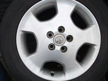 17inch rims and tires set(2) in Okinawa, Japan