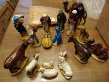 Nativity Scene in Yucca Valley, California