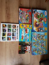 Train and Tractor Puzzles and Books Bundle in Lakenheath, UK