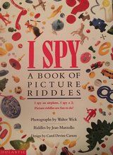 Hardcover I Spy book in Okinawa, Japan