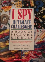 Hardcover I Spy Ultimate Challenger Book in Okinawa, Japan