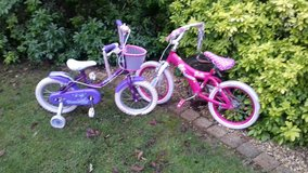 Various kids bikes in Lakenheath, UK