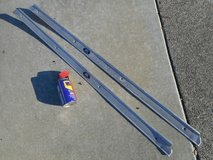 1973-77 OEM 2-Door CHEVY Aluminum DOOR SILL/THRESHOLD Plates -- Pair of 1Left/1Right in Travis AFB, California
