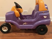 Purple ride-on car in Bolingbrook, Illinois