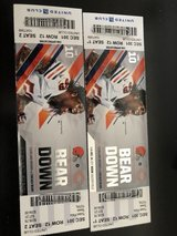 2 Bears tickets 12/24 United Club Seats 1-2 in Plainfield, Illinois
