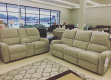 **Brand new** ASHLEY FURNITURE POWER RECLINING WITH ADJUSTABLE HEADREST in Fort Campbell, Kentucky