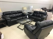 **AS IS** ASHLEY FURNITURE SET/ SOFA,LOVESEAT AND RECLINER in Fort Campbell, Kentucky