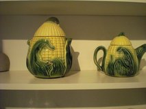 Corn Teapot and Cookie Jar in Ramstein, Germany