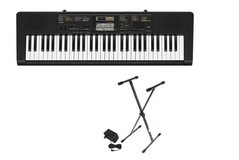 Casio Inc. CTK2400 PPK 61-Key Premium Portable Keyboard Package with Stand and Power Supply in Fort Bliss, Texas