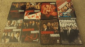 NEW in package CRIMINAL MINDS Several Seasons DVDs in Elgin, Illinois