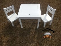 Order Custom Handmade Kid's 3-Piece Square Table and chair Set in Camp Lejeune, North Carolina