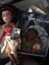plush Moana doll w/ gift bag in El Paso, Texas
