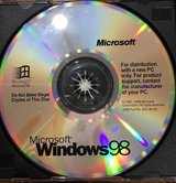 Microsoft windows 98 CDrom Software in Westmont, Illinois