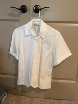 Women's USAF size 8MR semi-formal white blouse in Alamogordo, New Mexico