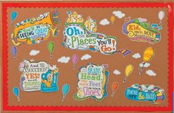 Dr. Seuss Bulletin Board Oh The Places You'll Go in Okinawa, Japan