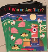 6 Scholastic Level C Guided Reading Books Where Are They? in Okinawa, Japan