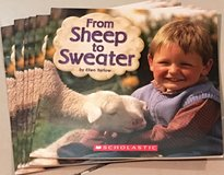 6 Scholastic Guided Reading Books From Sheep to Sweater in Okinawa, Japan