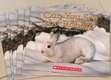 6 Scholastic Guided Reading Books Can you See the Rabbit? in Okinawa, Japan