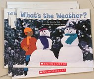 6 Scholastic Guided Reading Books Level B What's the Weather? in Okinawa, Japan