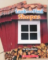 6 Scholastic Level B Guided Reading Books Look-and-Find Shapes in Okinawa, Japan