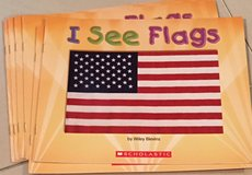 6 Scholastic Guided Reading Books I See Flags in Okinawa, Japan