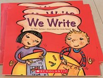 6 Scholastic Guided Reading Books Level A  We Write in Okinawa, Japan