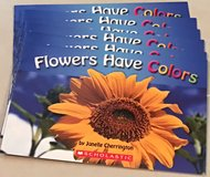 6 Scholastic Guided Reading Level A  Flowers Have Colors in Okinawa, Japan