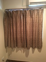 Off base Curtains in Okinawa, Japan