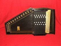 Vintage Autoharp / Case by Oscar Schmidt in St. Charles, Illinois