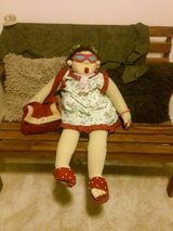 Funny Quirky - Sitting Grandma Detailed Doll in Tinley Park, Illinois