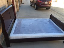 Queen bed with box spring in San Clemente, California